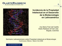 Diapositiva 1 - Instituto de Biotecnología