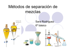 separacion de mezclas 6 basico