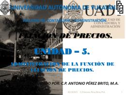 Diapositiva 1 - Universidad Autónoma de Yucatán