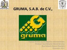 Sharon E. Ruíz Saldaña GRUMA, S