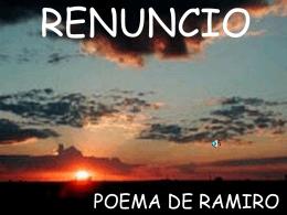 RENUNCIO