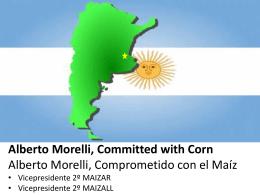 PPT MAIZALL Alberto Morelli