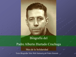 Biografía de San Alberto Hurtado