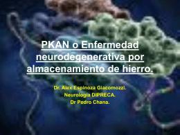 Enfermedad neurodegenerativa por almacenamiento de