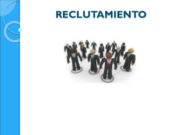 RECLUTAMIENTO