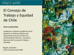 El Consejo de Trabajo y Equidad en Chile