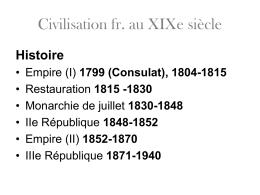Restauration 1815