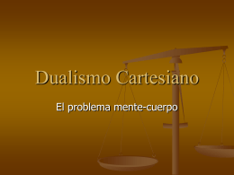 3. dualismo cartesiano