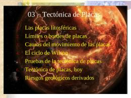 03. Tectónica de placas