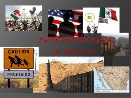 Inmigración Ilegal