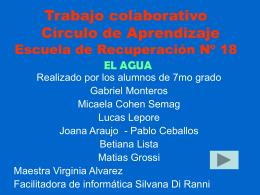 Producciones - Gobierno de la Ciudad Autónoma de Buenos Aires