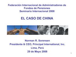 Norman Sorensen - (FIAP) Federación Internacional de