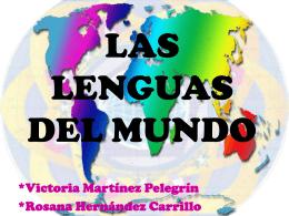 las_lenguas_del_mundo VICKY Y ROSANA