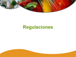 Regulaciones - Food Safety Site