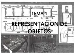 presentación representación de objetos