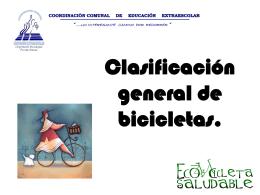 Otra Clasificacion Bicicletas