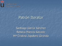 Patrón Iterator