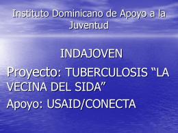 Proyecto prevencion tuberculosis