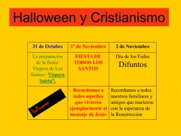 Halloween y Cristianismo