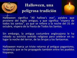 Aquí descarga información de halloween