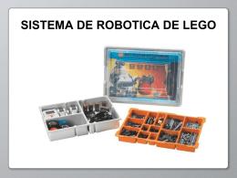 Sistema De Robótica De LEGO