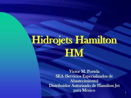 Hidrojets Hamilton HM - servicios especializados de abastecimiento