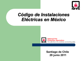 Supervisón de las Instalaciones Eléctricas en México