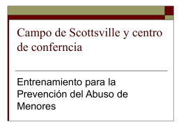 Slide 1 - Scottsville Camp and Conference Center