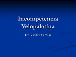 Incompetencia Velopalatina