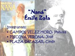 """Naná"" Émile Zola"