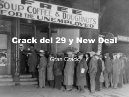 Crack del 29 y New Deal