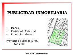 Publicidad Inmobiliaria, Luis Cesar Marinelli