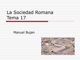 La Sociedad Romana II