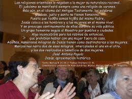 XIII Domingo del Tiempo Ordinario, Ciclo B. Evangelio
