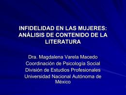 análisis de contenido en la literatura
