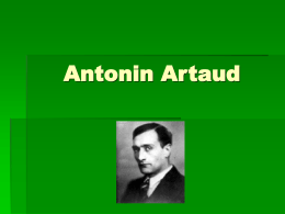 Antonin Artaud 2005