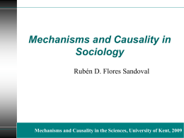 What are social mechanisms?