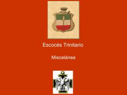 26° Grado – Escoces Trinitario