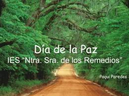 Día de la Paz - IES NS Los Remedios