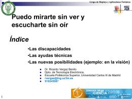 Ponencia presentada - Universidad Carlos III de Madrid