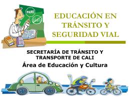 educación en tránsito y seguridad vial : ideal