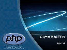 DW3 - Clientes Web