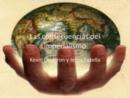 Las consecuencias del imperialismo