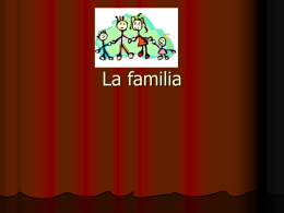 La familia - WordPress.com