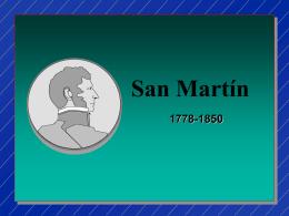 San Martín, 1778 -1850