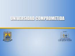 Universidad Comprometida - Orientación y Servicios Educativos