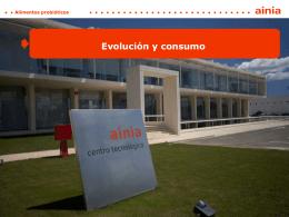 presentación sobre Evolución y consumo