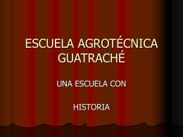 escuela agrotécnica guatraché