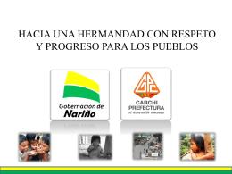 HACIA UNA HERMANDAD CON RESPETO Y PROGRESO PARA