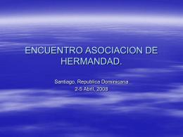 ADR presentation - Encuentro Asociacion de Hermandad